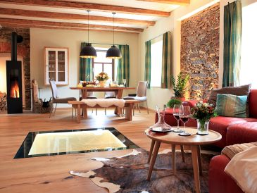 Holiday house Ferienhaus Chalet Mussea Sauna & Wellness