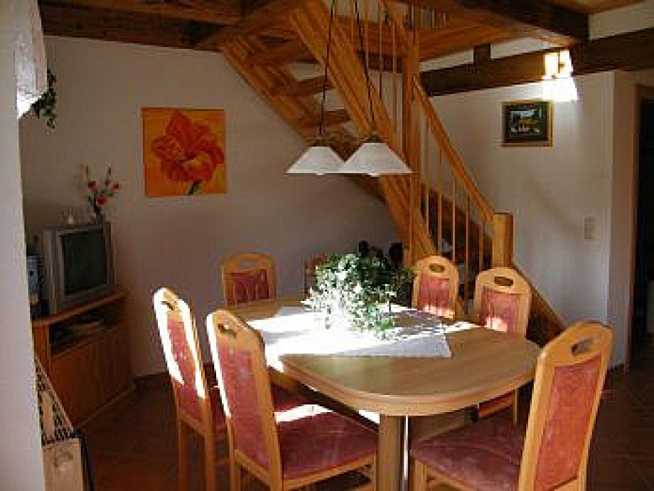 Wohn- und Essbereich Küche