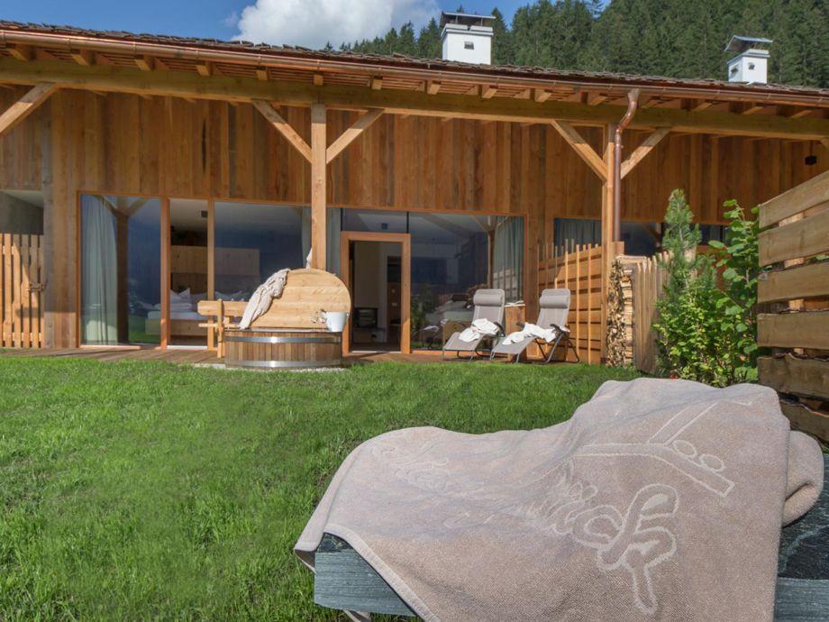 Lodge mit großer Terrasse