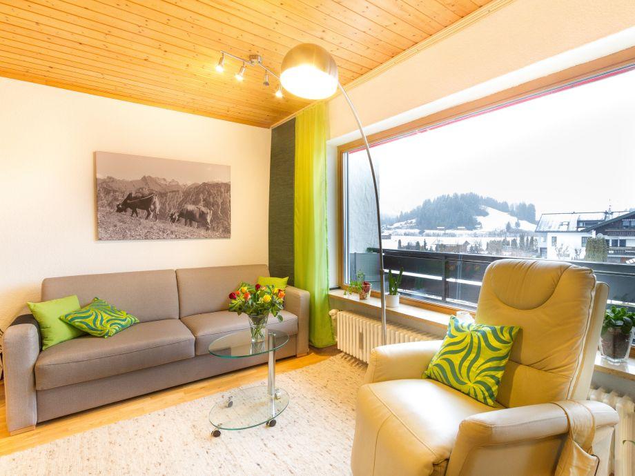 Wohnbereich der Ferienwohnung Renner 2