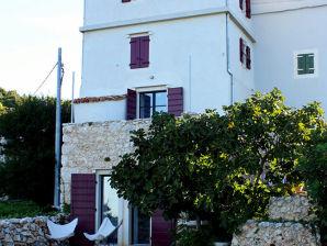 Ferienhaus auf der Insel Cres mit Meerblick