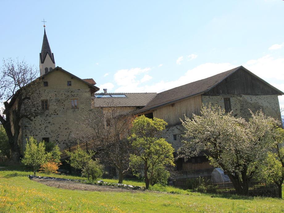 Ansicht vom Ansitz  Schloss Gravetsch
