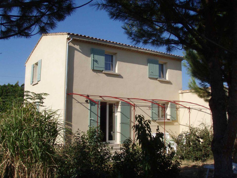 Ferienhaus mit Terrasse und schönem Garten