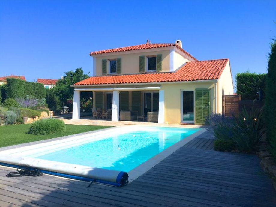 Private Pool at villa Le Beau Chene