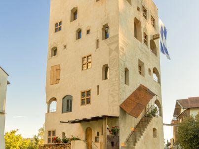 Turm zu Schloss Schedling