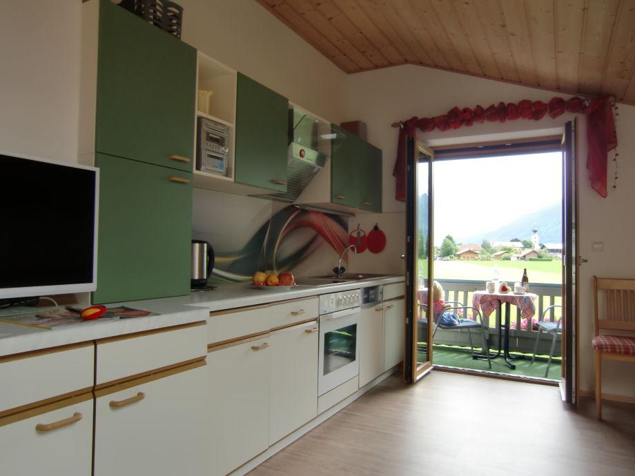 Wohnküche mit Ausblick
