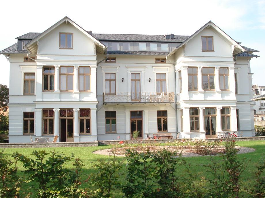 Die Villa Undine in Ahlbeck auf Usedom