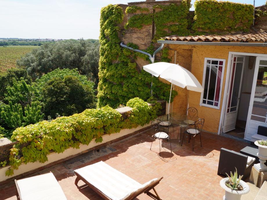 Duc de Mirepoix Wohnung Terrasse