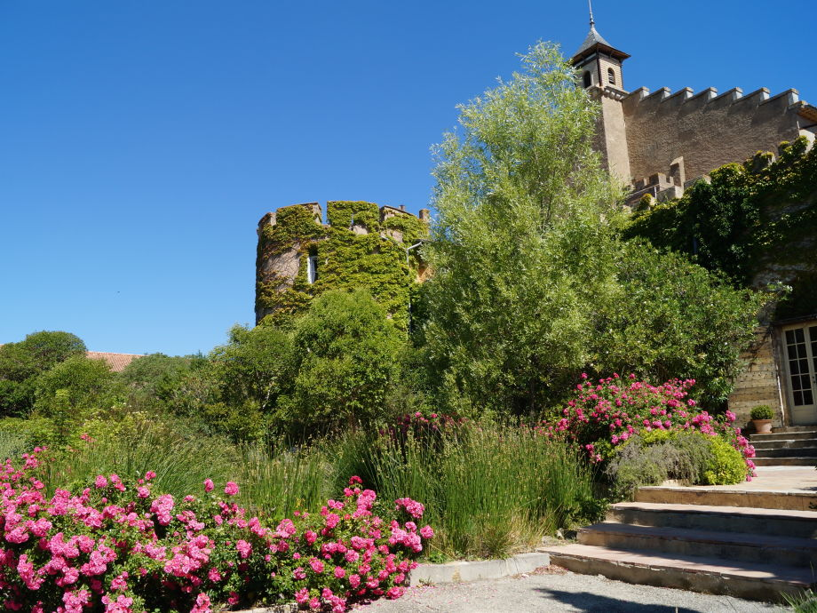 Hermitage de Combas castle in Languedoc south of France