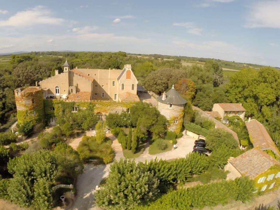 Schloss Hermitage de Combas, Languedoc Süd Frankreich