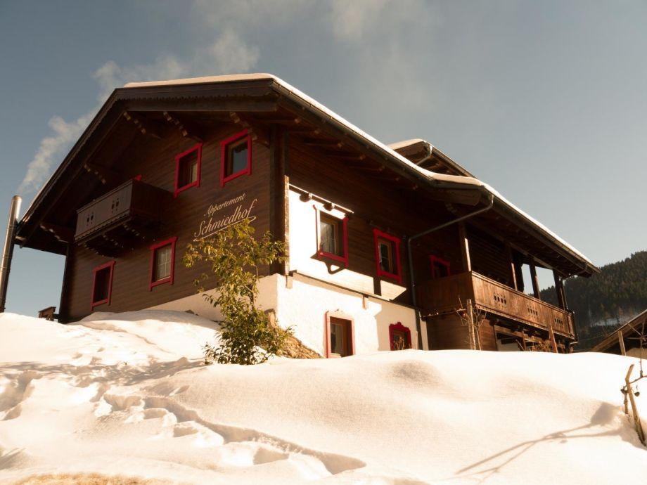 Schmiedhof im Winter