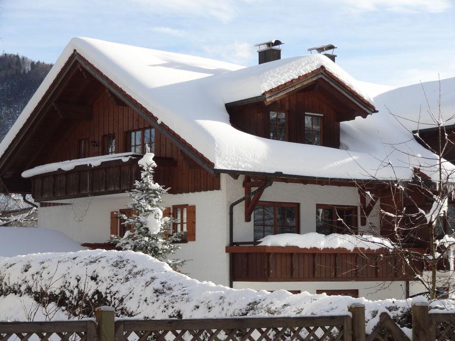 """Das """"Alpenchalet"""" im Winter"""