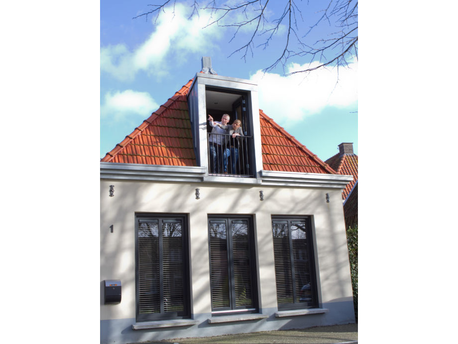 Ferienhaus mit französische Balkon
