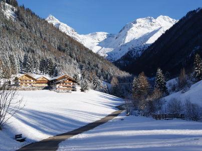 Dolomitenblick im Haus Alpegger