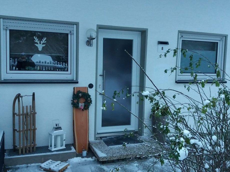Die eigene Haustür nach Norden bietet viel Privatsphäre