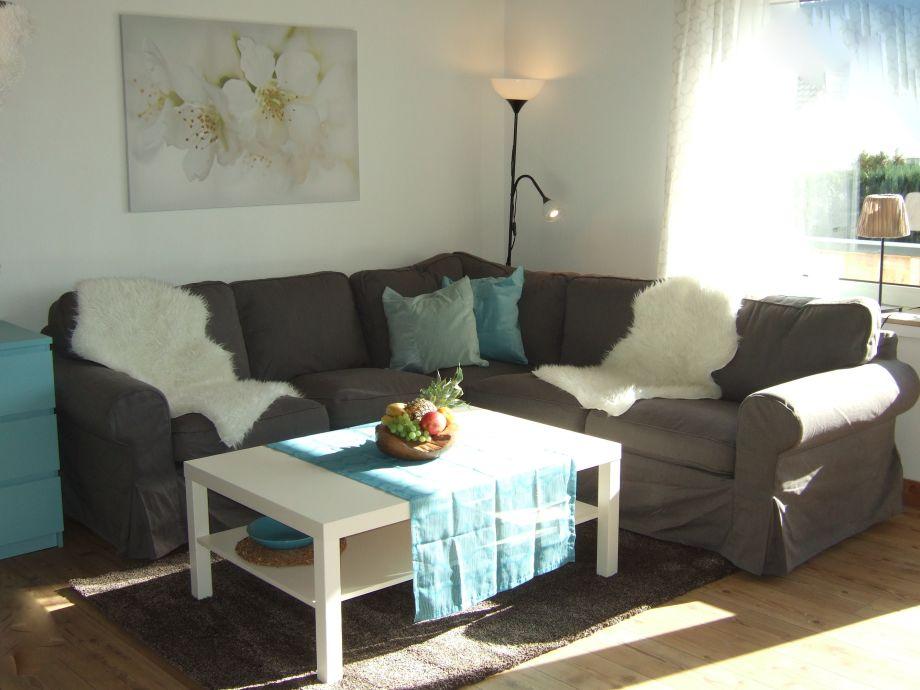 Wohnbereich Appartement im Erdgeschoss
