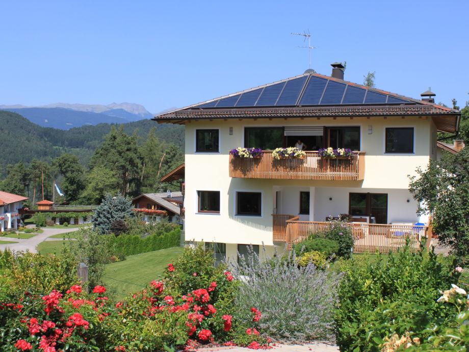 Ferienwohnung in der Villa Tanja im Sommer