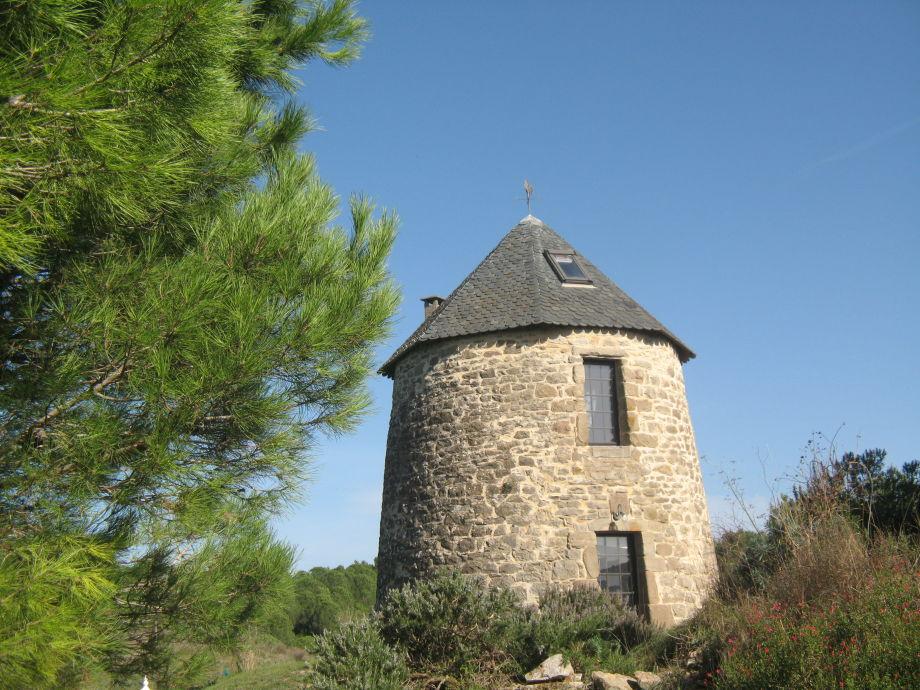 Spitzdachmühle 13. Jahrhundert