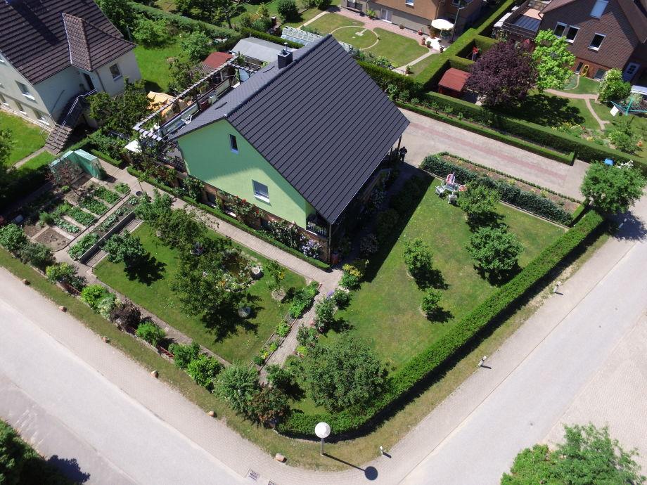 Luftaufnahme von unserem Anwesen