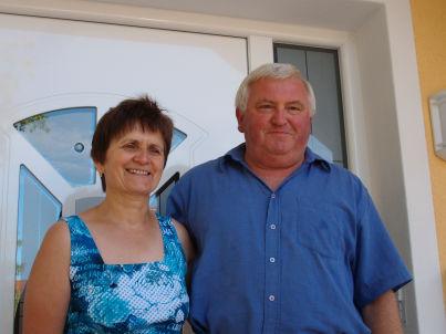 Ihr Gastgeber Helga und Johann Selz