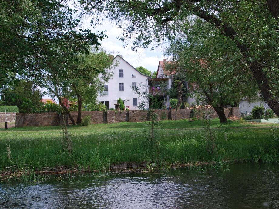 Das Haus von der Havel aus