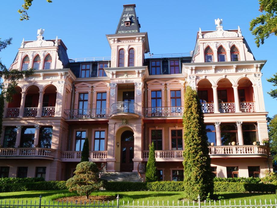 Die Villa Hintze in Heringsdorf