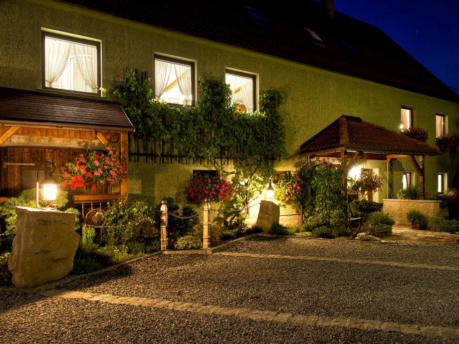 Haus Karola - in der Abenddämmerung