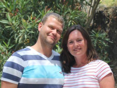 Ihr Gastgeber Mandy und Jörg Sterzik