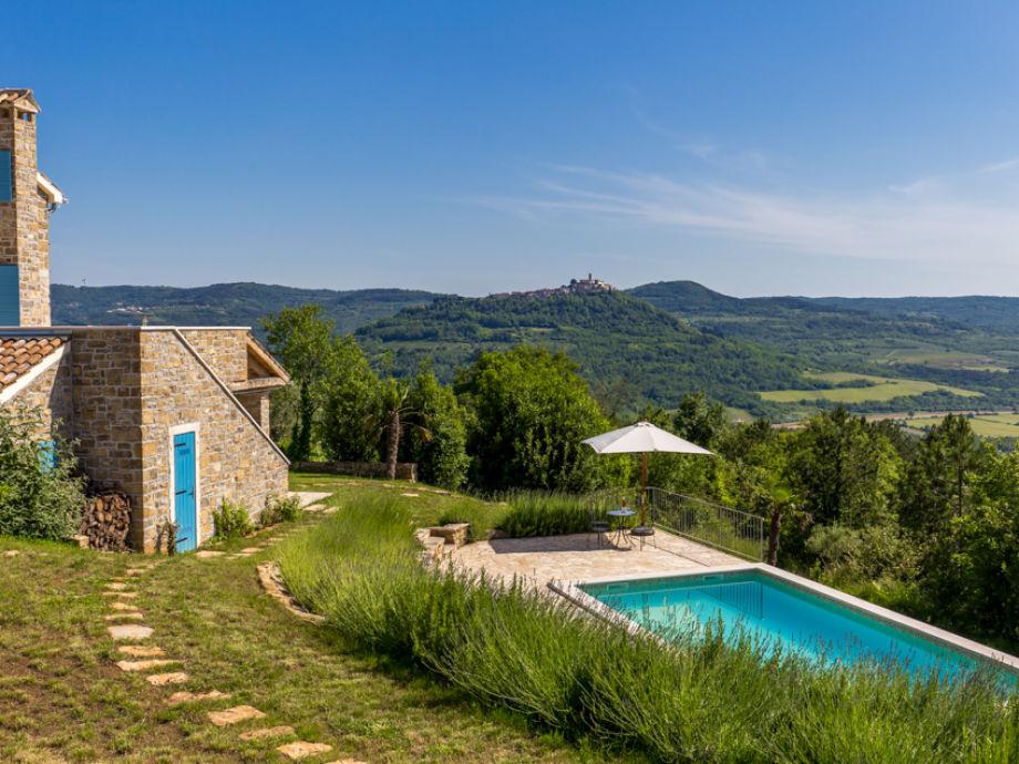 Außenaufnahme Villa Pigini