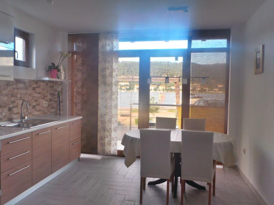 Blick von dem Küche