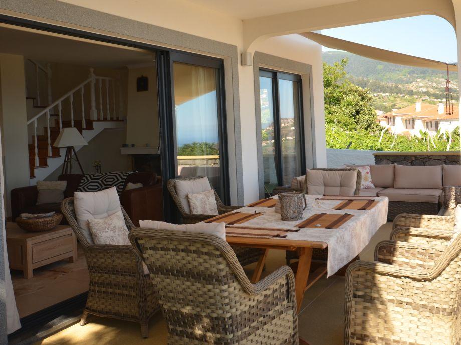 villa 17 west mit solar pool madeira firma 17 west ltd. Black Bedroom Furniture Sets. Home Design Ideas