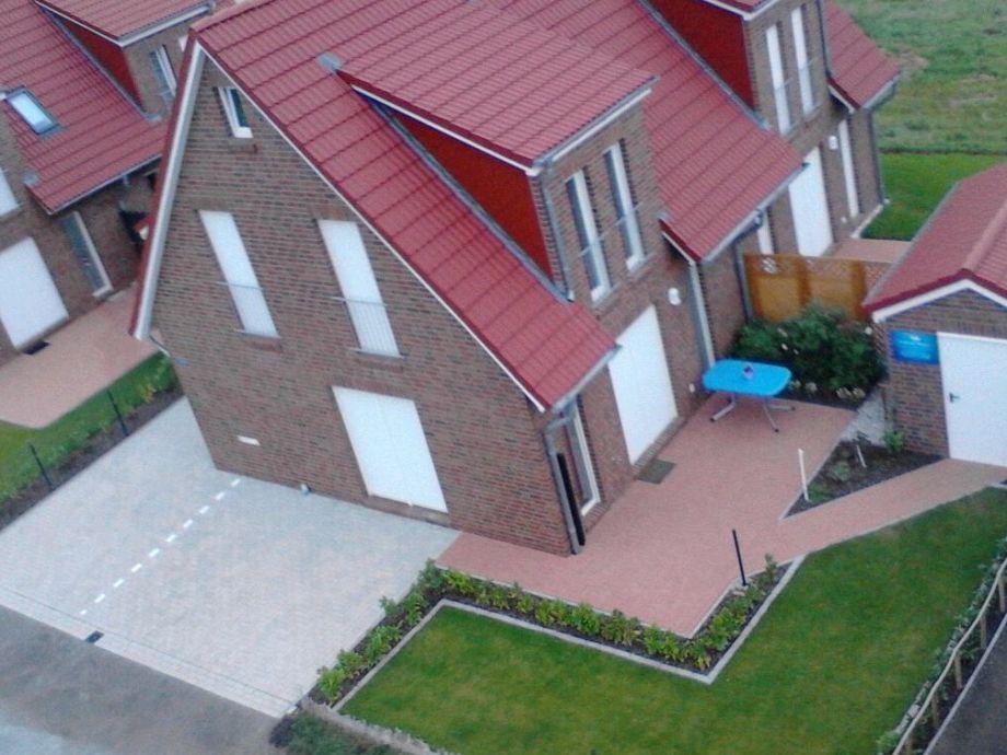 Doppelhaushälfte nach Fertigstellung