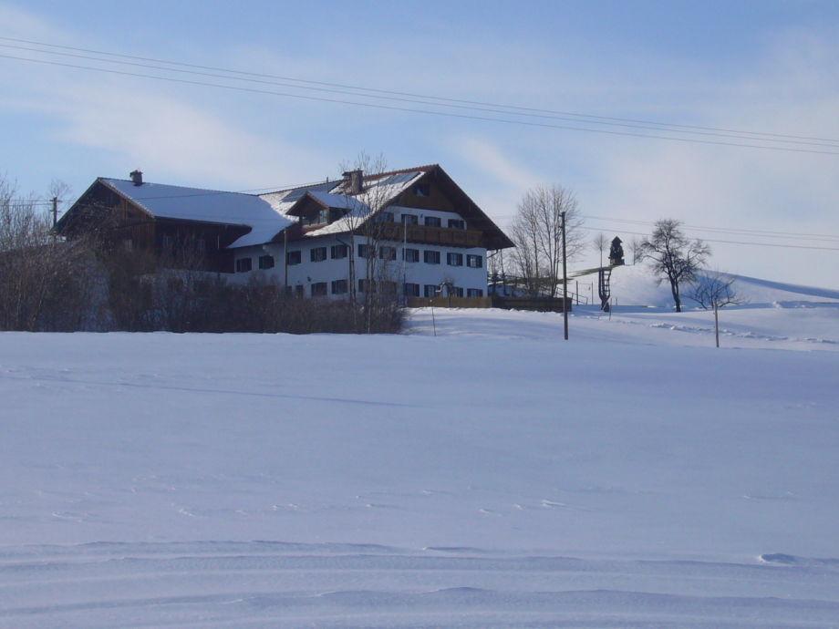 Winter im Brunnhof