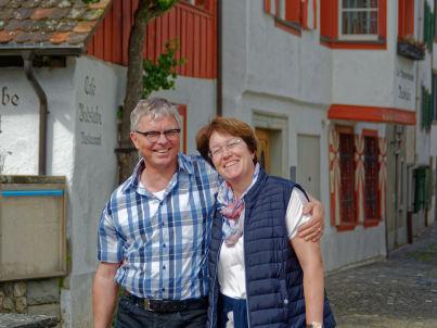 Ihr Gastgeber Brigitte und Thomas Stollenwerk