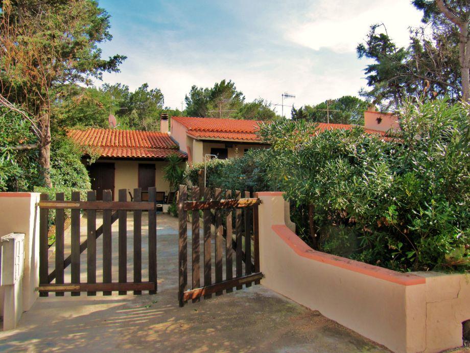 Eingang Casa Romantica