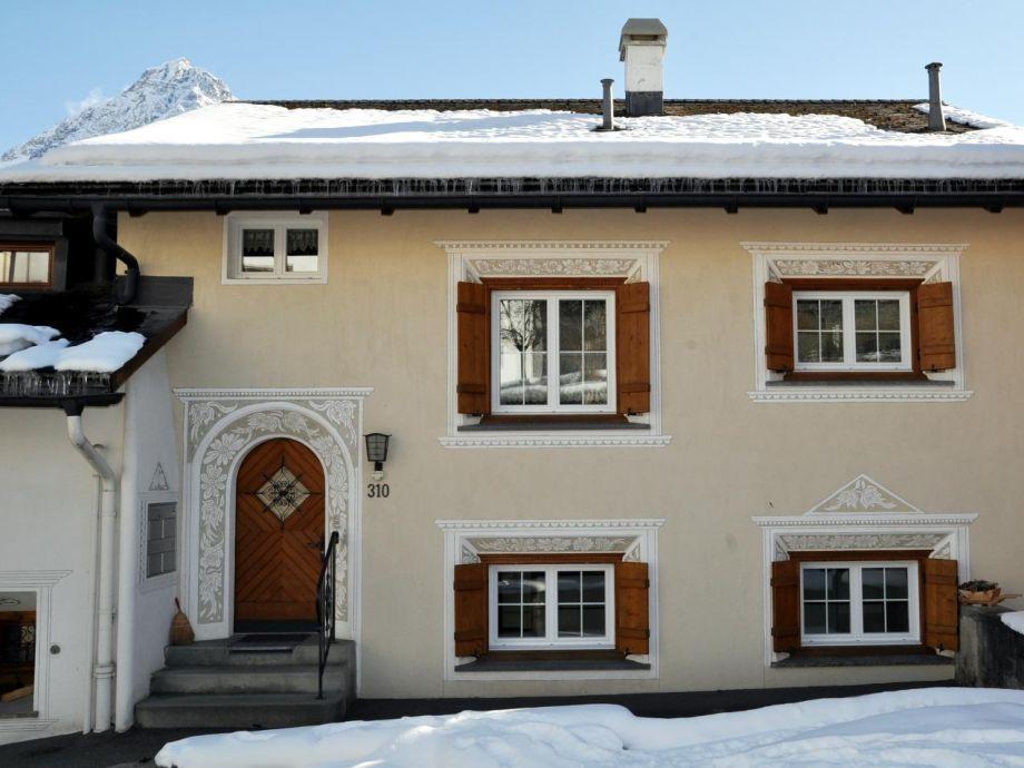 Eingang ins Haus mit der Ferienwohnung