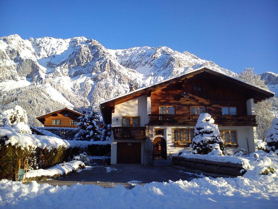 Außenaufnahme Haus Bergluft