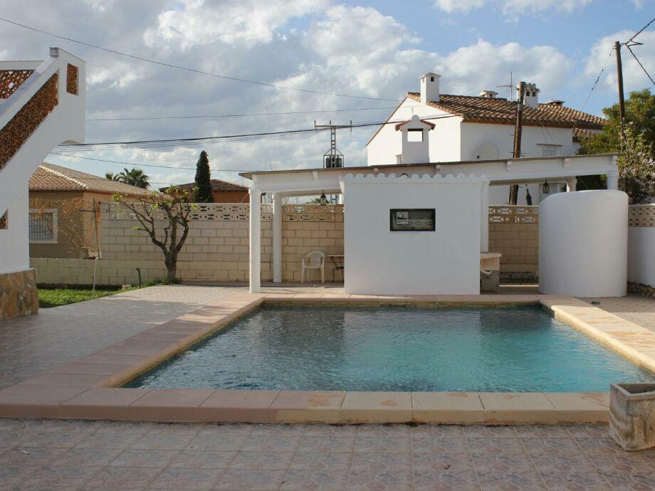 Ferienhaus Lliri mit Pool