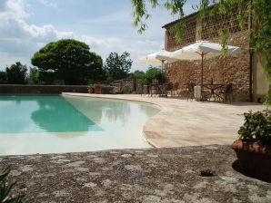 Private Villa mit Garten und Panorama-Pool