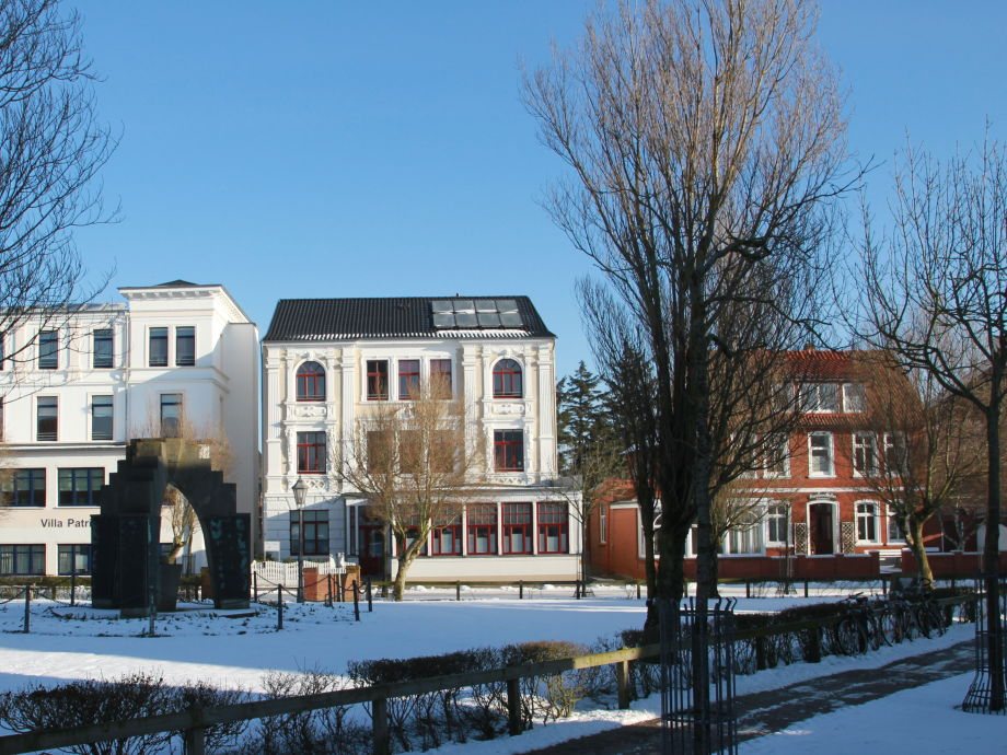 Villa Neptun im Winter