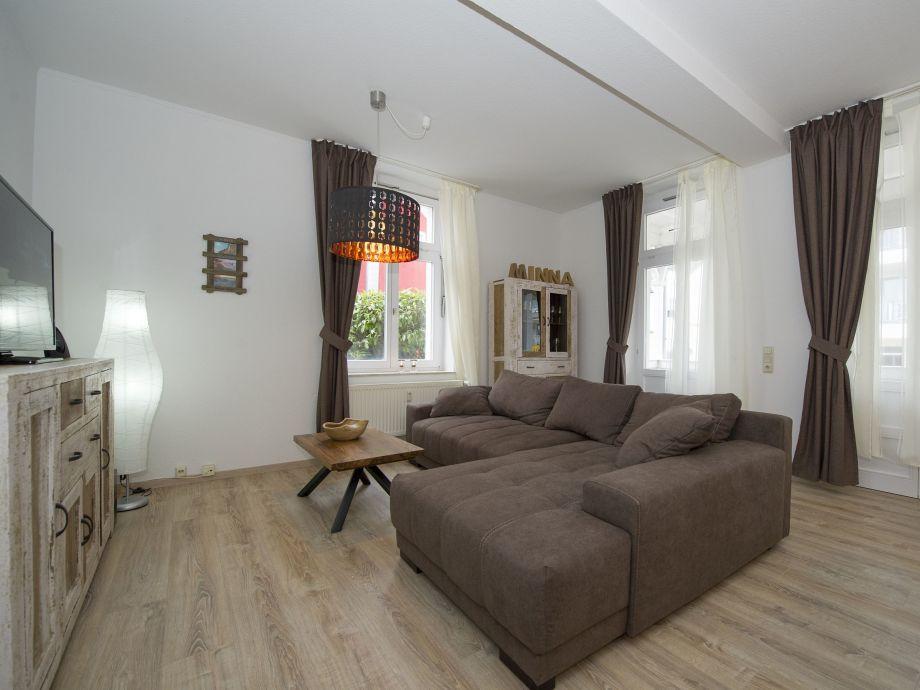 Ausstattung 03 in der Villa Minna mit Balkon