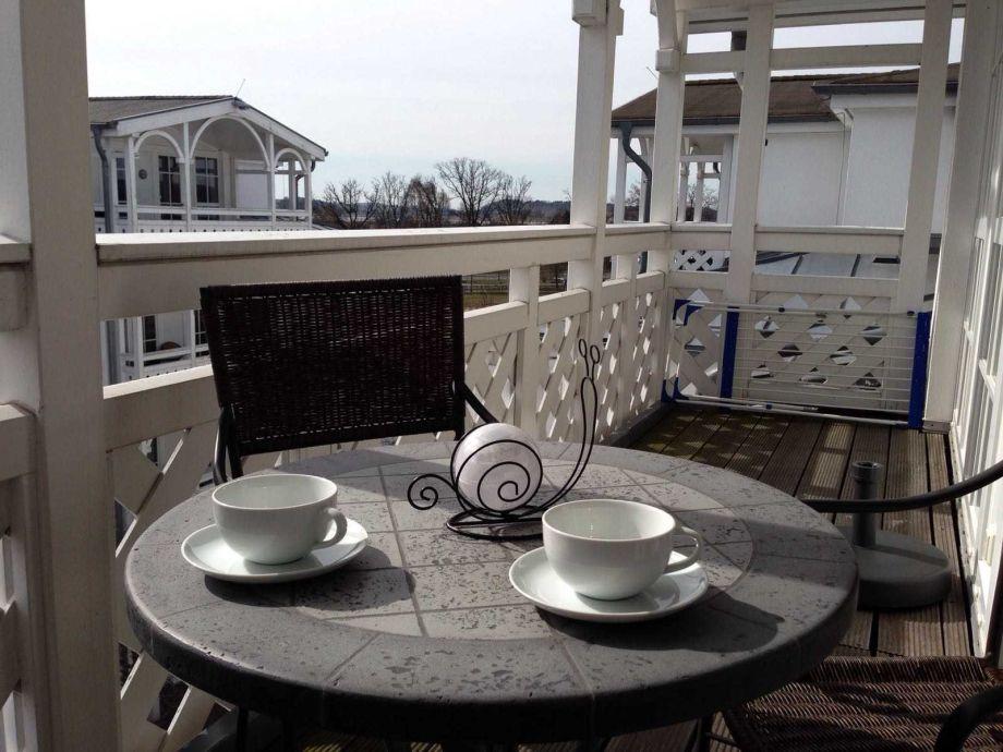Außenaufnahme 550 F.01 Seepark Sellin-Haus Göhren Penthouse mit Balkon