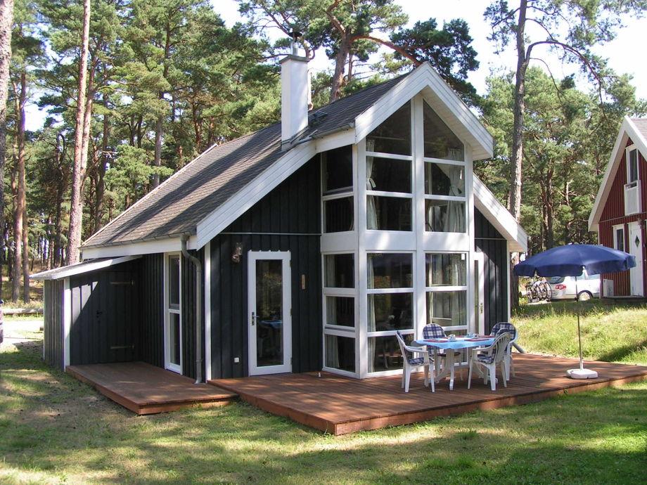 Außenaufnahme in Ferienwohnpark -Ferienhaus Walddüne - Strandpark Baabe