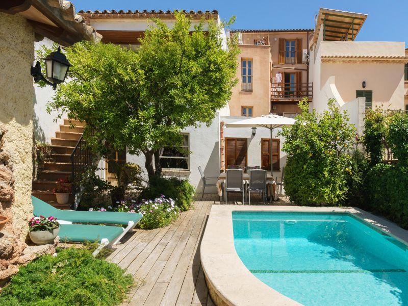 Ferienhaus Casa Girard mit Pool in Pollensa Altstadt