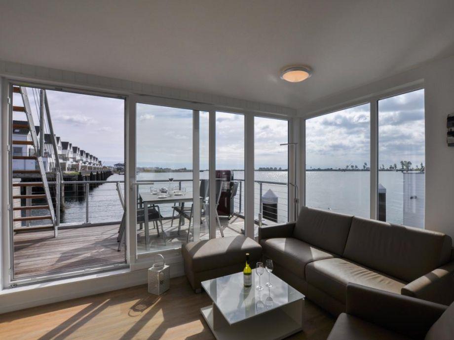 Ferienhaus Hausboot Wohn-/ Essbereich