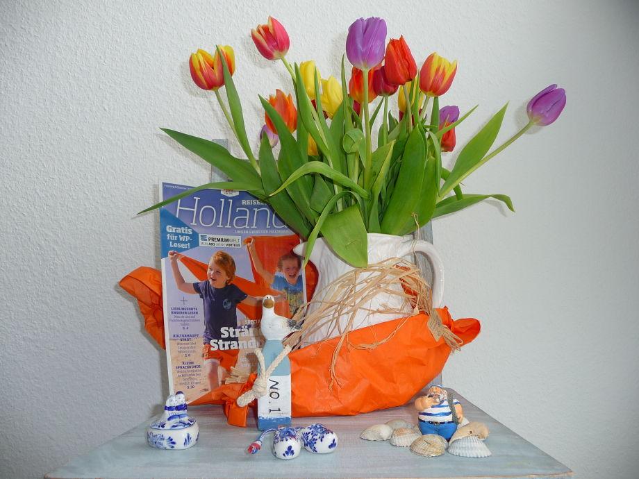 Jetzt schnell, bevor die Tulpen verblühen ...