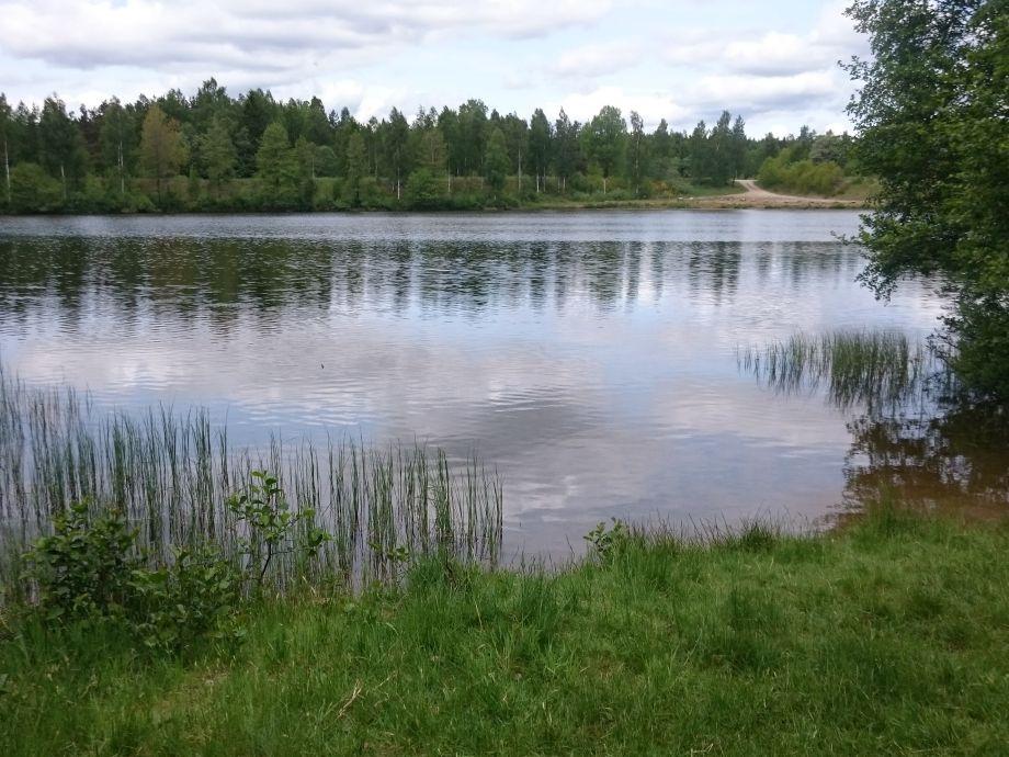 Närmsta bad och fiskesjön 500mSkridsko och vinterfiske