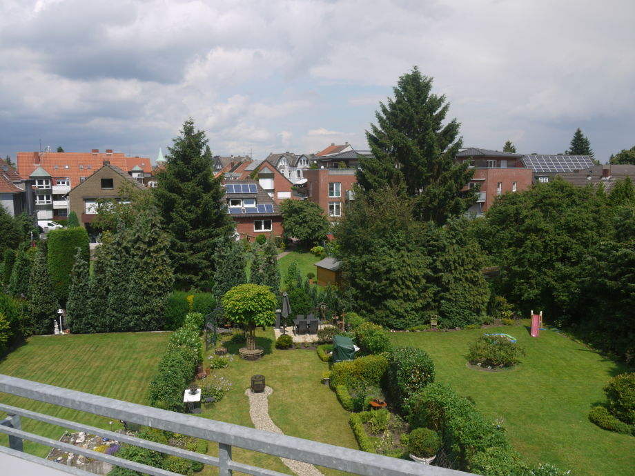 View from the roof terrace to Dorsten