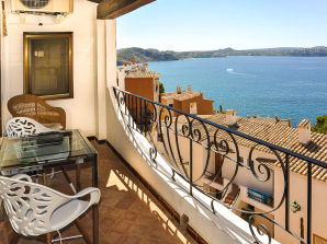 Sea View Holiday Apartment in Cala Fornells ID 2671