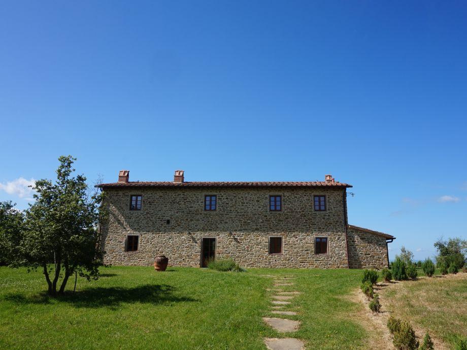 Ferienhaus in Rapolano Terme - Vorderansicht